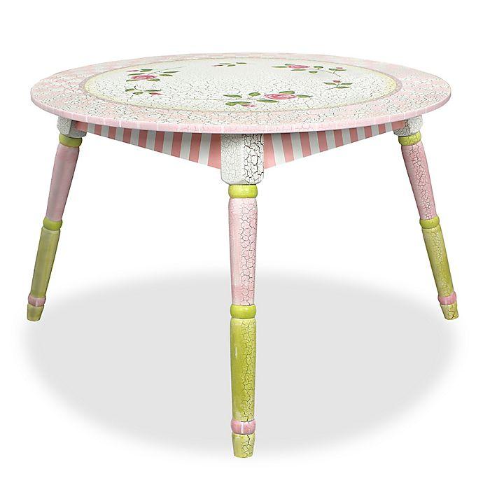 Alternate image 1 for Teamson Fantasy Fields Crackled Rose Table