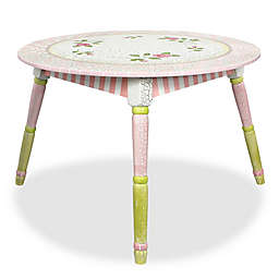 Teamson Fantasy Fields Crackled Rose Table