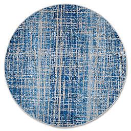 Safavieh Adirondack 6-Foot Round Area Rug in Blue