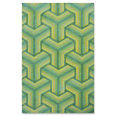 Donny Osmond Escape Ocean Connections Indoor/Outdoor Rug