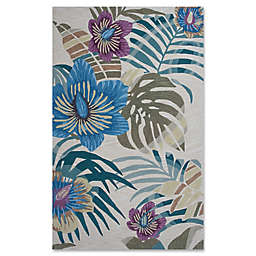 KAS Coral Palm Rug in Sand