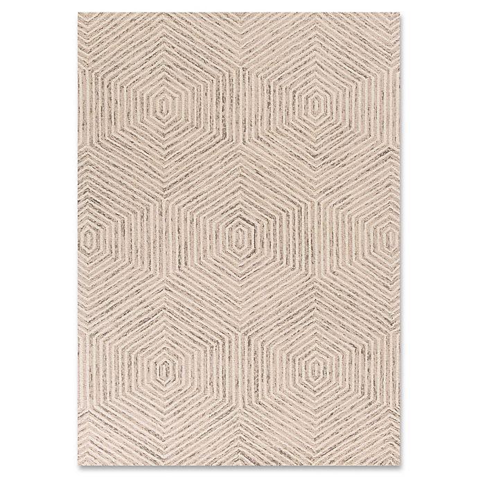 Alternate image 1 for Gramercy Honeycomb Rug in Ivory