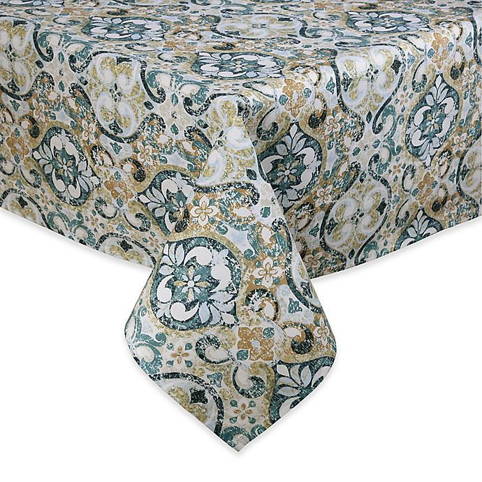 Alternate image 1 for Town & Country Sagrada Laminated Fabric 52-Inch x 70-Inch Oblong Tablecloth