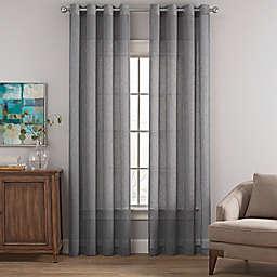 Costas Terra Nation Sheer Grommet Top Window Curtain Panel