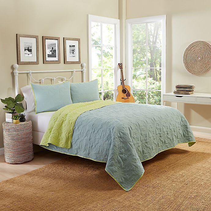 Alternate image 1 for Vue® Zuma Beach Reversible Quilt Set