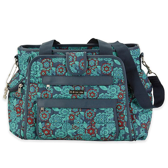 Alternate image 1 for Kalencom® Nola Featherweight Quilted Diaper Bag Tote in Floral