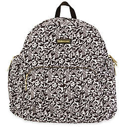 Kalencom® Chicago Backpack Diaper Bag in Black/White