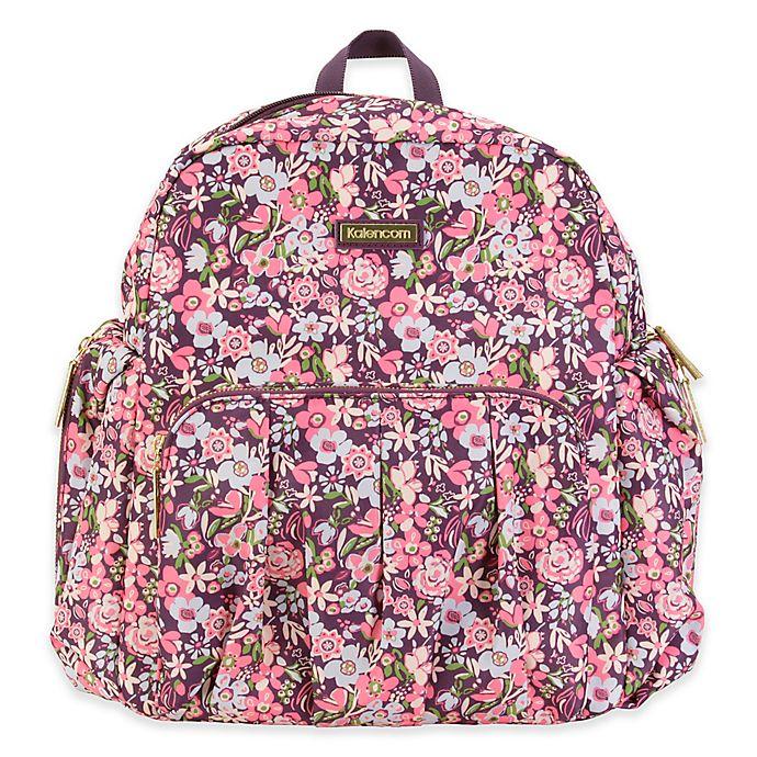 Alternate image 1 for Kalencom® Chicago Backpack Diaper Bag in Blossom