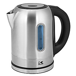Kalorik 1.7 Liter Digital Cordless Stainless Steel Kettle with Changing LED Light