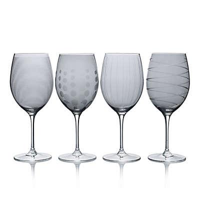 Mikasa® Cheers 24 oz. Red Wine Glasses in Smoke (Set of 4)
