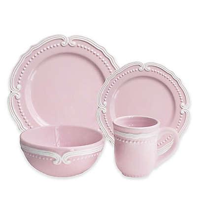 American Atelier Victoria 16-Piece Dinnerware Set in Blush