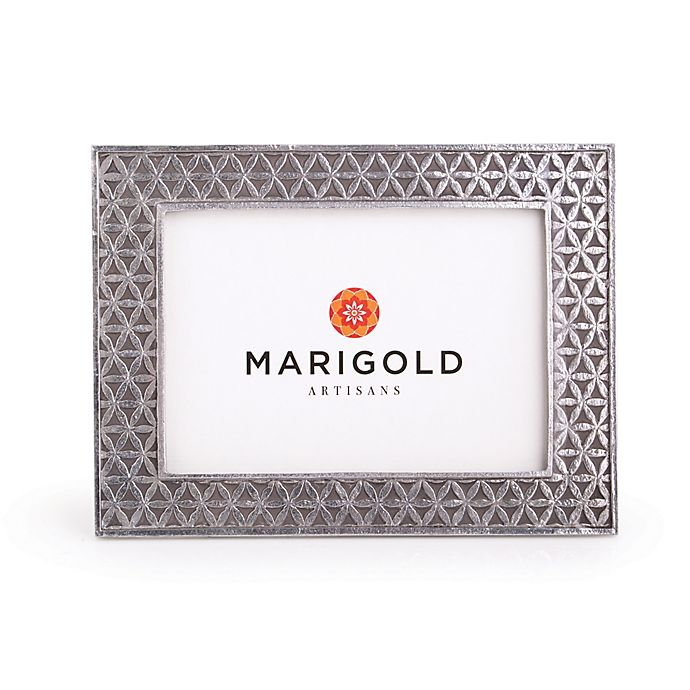 Alternate image 1 for Marigold Artisans Flower of Life 5-Inch x 7-Inch Picture Frame