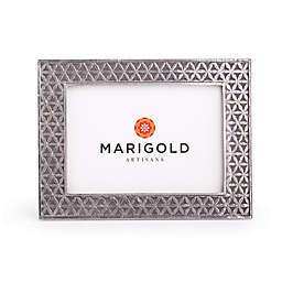 Marigold Artisans Flower of Life 5-Inch x 7-Inch Picture Frame