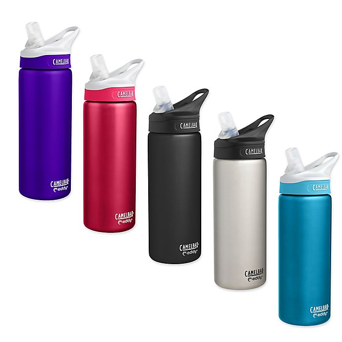Alternate image 1 for CamelBak® eddy® 20 oz. Double-Wall Insulted Stainless Steel Water Bottle