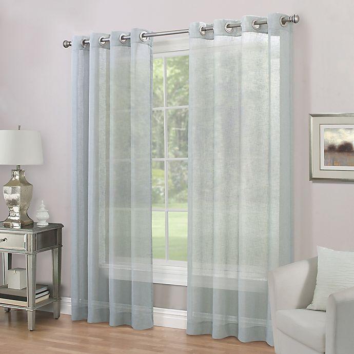 Alternate image 1 for Imperial Grommet Top Sheer Window Curtain Panel