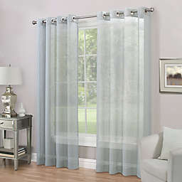 Imperial Grommet Top Sheer Window Curtain Panel