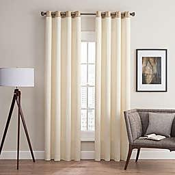 Costas Remix 84-Inch Grommet Top Window Curtain Panel in Cream