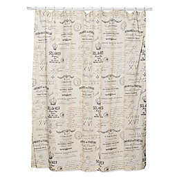 Levtex Home Girona 72-Inch Shower Curtain
