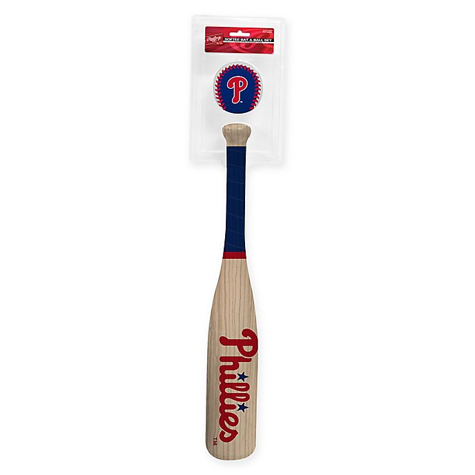 Alternate image 1 for Philadelphia Phillies Softee Bat and Ball Set