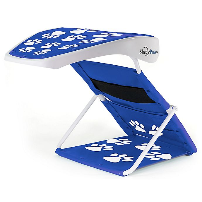 Alternate image 1 for ShadyPaws Portable Pet Shade in Blue