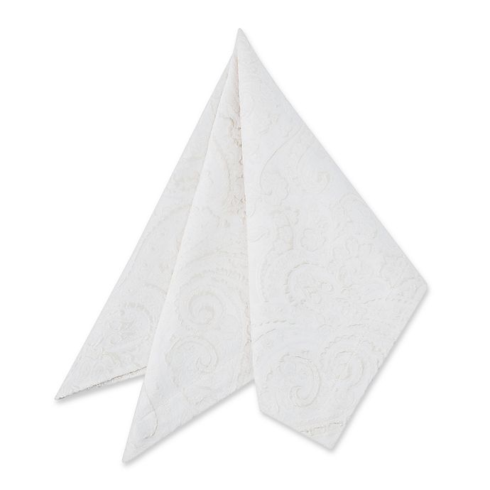 Alternate image 1 for Waterford Table Esmerelda Napkins in White (Set of 2)