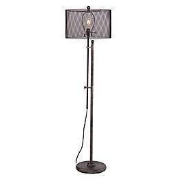 Southern Enterprises Zylen Floor Lamp in Gunmetal