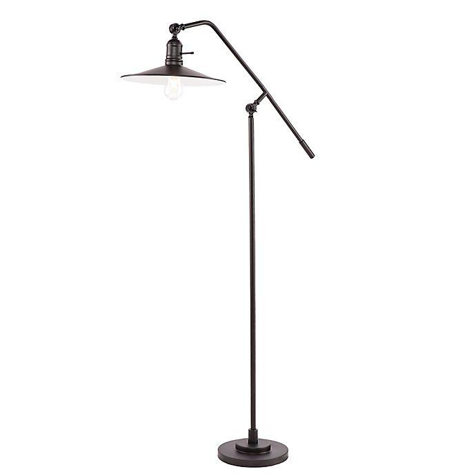 Alternate image 1 for Southern Enterprises Victor Floor Lamp in Black