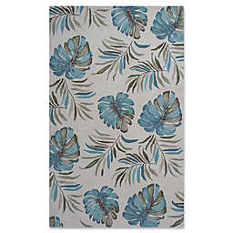 KAS Coral Lanai 3-Foot 3-Inch x 5-Foot 3-Inch Area Rug in Ivory