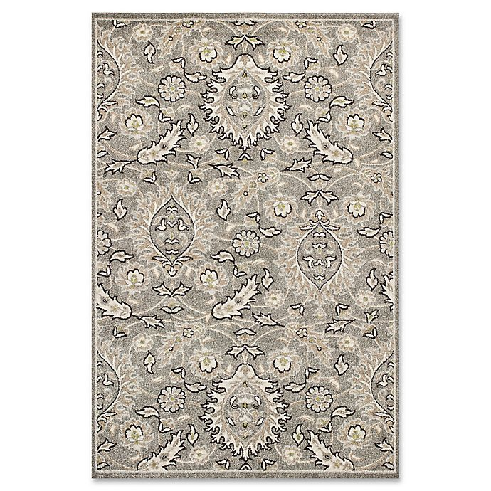 Alternate image 1 for KAS Lucia Artisan Indoor/Outdoor Rug in Grey