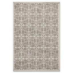 7-Foot 7-Inch x 10-Foot 10-Inch Lucia Indoor/Outdoor rug in Grey