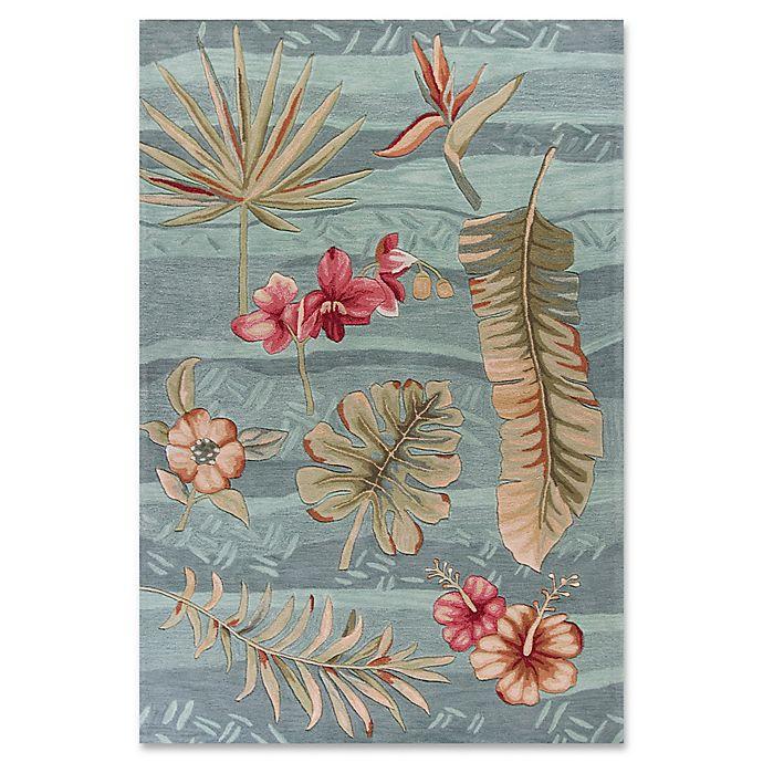 Alternate image 1 for KAS Coral Visions Rug in Seafoam