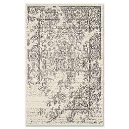 Safavieh Adirondack 2-Foot 6-Inch x 4-Foot Accent Rug in Ivory/Silver