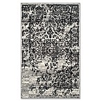 Safavieh Adirondack 2-Foot 6-Inch x 4-Foot Accent Rug in Silver/Black