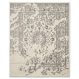 Safavieh Adirondack 8-Foot x 10-Foot Area Rug in Ivory/Silver