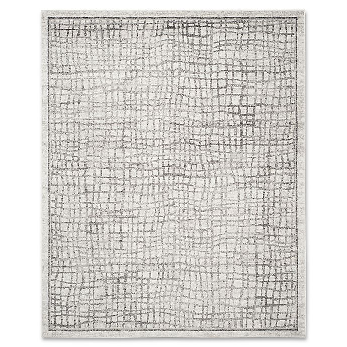 Alternate image 1 for Safavieh Adirondack 9-Foot x 12-Foot Area Rug in Silver/Ivory