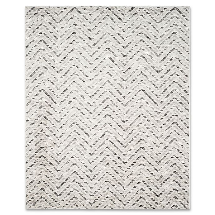 Alternate image 1 for Safavieh Adirondack 9-Foot x 12-Foot Area Rug in Ivory/Charcoal