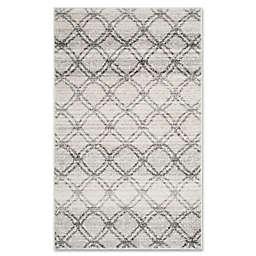 Safavieh Adirondack 3-Foot x 5-Foot Area Rug in Silver/Charcoal