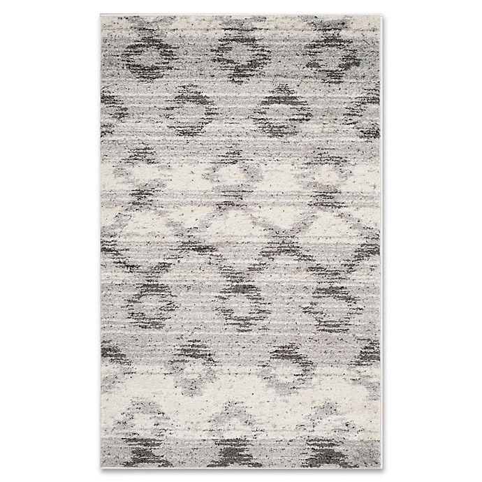 Alternate image 1 for Safavieh Adirondack 3-Foot x 5-Foot Area Rug in Silver/Charcoal