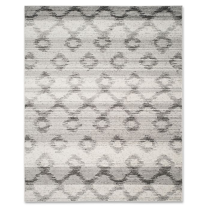 Alternate image 1 for Safavieh Adirondack 9-Foot x 12-Foot Area Rug in Silver/Charcoal