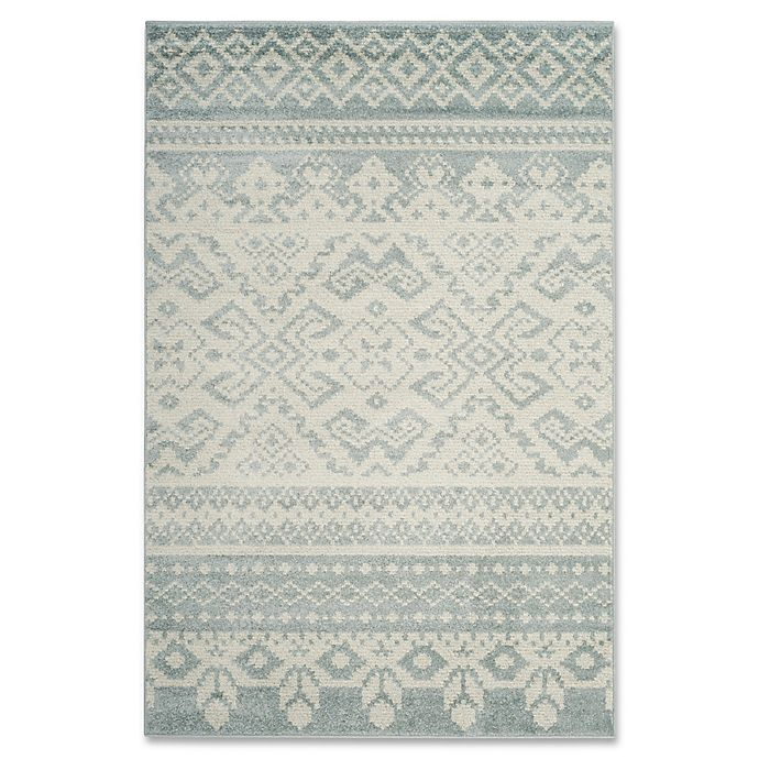 Alternate image 1 for Safavieh Adirondack 4-Foot x 6-Foot Area Rug in Slate/Ivory