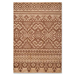 Safavieh Adirondack 5-Foot 1-Inch x 7-Foot 6-Inch Area Rug in Camel/Chocolate
