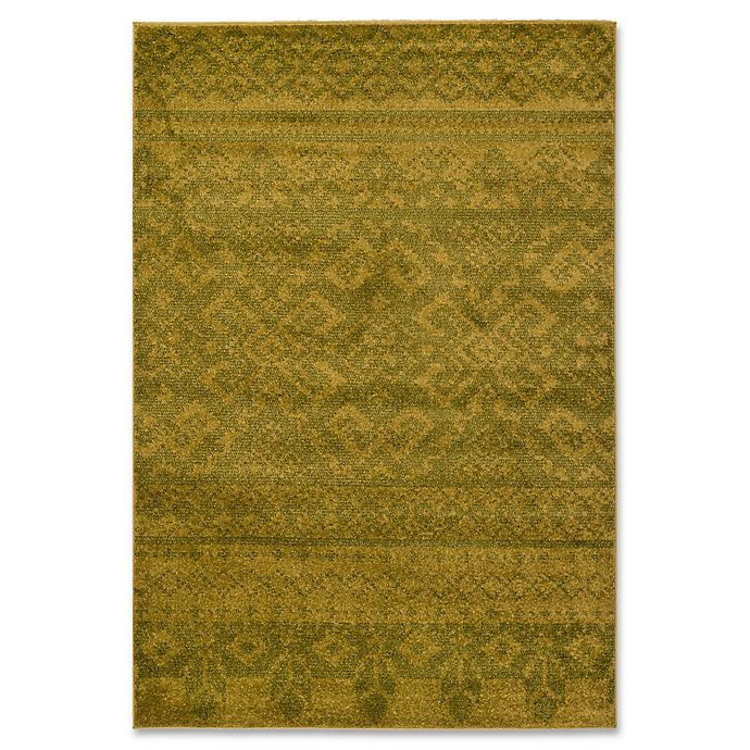 Alternate image 1 for Safavieh Adirondack 5-Foot 1-Inch x 7-Foot 6-Inch Area Rug in Green/Dark Green
