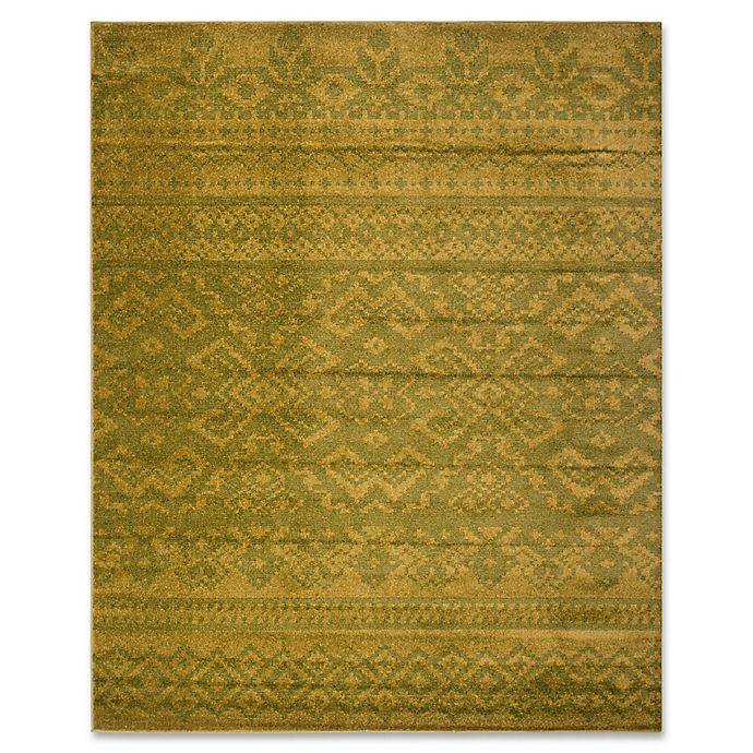 Alternate image 1 for Safavieh Adirondack 8-Foot x 10-Foot Area Rug in Green/Dark Green