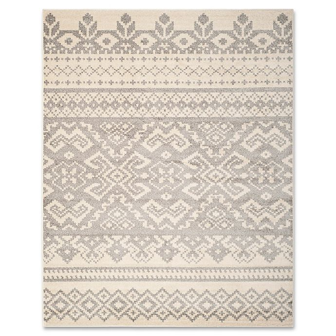 Alternate image 1 for Safavieh Adirondack 9-Foot x 12-Foot Area Rug in Ivory/Silver