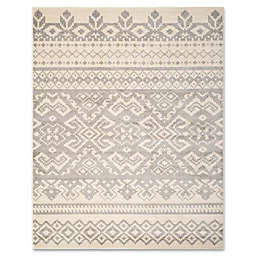 Safavieh Adirondack 9-Foot x 12-Foot Area Rug in Ivory/Silver