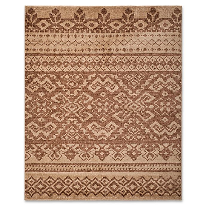 Alternate image 1 for Safavieh Adirondack 9-Foot x 12-Foot Area Rug in Camel/Chocolate