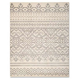 Safavieh Adirondack 10-Foot x 14-Foot Area Rug in Ivory/Silver