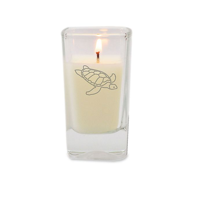 Alternate image 1 for Carved Solutions Gem Collection Turtle Votive Candle