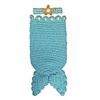 So 'dorable Crochet 2-Piece Mermaid Headband and Cocoon Set in Turquoise