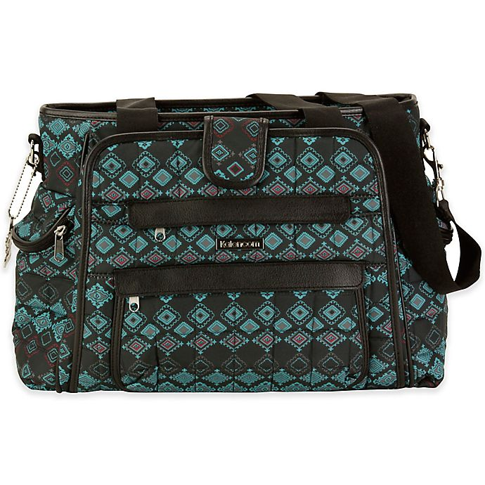 Alternate image 1 for Kalencom® Nola Featherweight Quilted Diaper Bag Tote in Geo